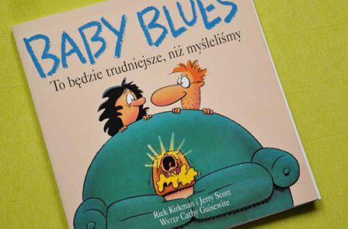 "Okładka książki ""Baby Blues"""