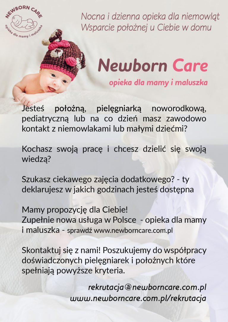 Oferta pracy dla połoznych i pielęgniarek w całej Polsce