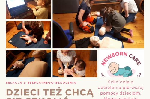 Udzielanie pierwszej pomocy dziecku przez inne dziecko